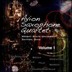 Avion Saxophone Quartet, Volume 1
