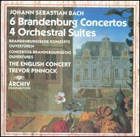 Bach: 6 Brandenburg Concertos; 4 Orchestral Suites - Alastair Mitchell (bassoon); Amanda MacNamara (violone); Anthony Halstead (horn); Anthony Pleeth (cello); Charles Medlam (viola da gamba); Christian Rutherford (horn); David Reichenberg (oboe); English Consort; Jan Schlapp (viola); Michael Laird (trumpet)