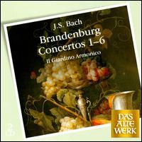 Bach: Brandenburg concertos, Nos. 1-6 - Il Giardino Armonico; Giovanni Antonini (conductor)