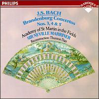 Bach: Brandenburg Concertos Nos. 3, 4 & 5 - Alan Loveday (violin); Claude Monteux (flute); David Munrow (recorder); George Malcolm (harpsichord); Iona Brown (violin);...