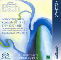 Bach: Brandenburgische Konzerte Nr. 5 & 6, BWV 1050 & 1051; Tripelkonzert, BWV 1044 - Diego Fasolis (harpsichord); Duilio Galfetti (viola); Duilio Galfetti (violin); Francesco Cera (harpsichord);...