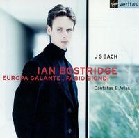 Bach: Cantatas & Arias - Europa Galante; Ian Bostridge (tenor); Fabio Biondi (conductor)