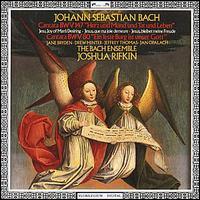 Bach: Cantatas, BWV 147 & 80 - Bach Ensemble; Drew Minter (counter tenor); Jan Opalach (bass); Jane Bryden (soprano); Jeffrey Thomas (tenor)