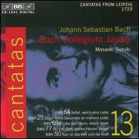 Bach: Cantatas, Vol. 13 - Bach Collegium Japan; Concerto Palatino (brass ensemble); Gerd Türk (tenor); Kirsten Solleck-Avella (alto);...