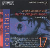 Bach: Cantatas, Vol. 17 - From Leipzig, 1724 - Bach Collegium Japan Chorus; Bach Collegium Japan Orchestra; Gerd Türk (tenor); Peter Kooij (bass); Robin Blaze (alto);...