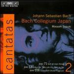 Bach: Cantatas, Vol. 2 - BWV71, 131, 106