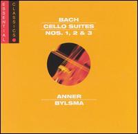 Bach: Cello Suites Nos. 1, 2 & 3 - Anner Bylsma (cello)