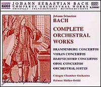 Bach: Complete Orchestral Works (Box Set) - Allan Bergius (cello); Christian Hommel (oboe); Christian Hommel (oboe d'amore); Christine Pichlmeir (violin);...