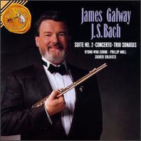 Bach: Concerto In E/Trio Sonata Nos. 2 & 4/Suite No.2 - I Solisti di Zagreb; James Galway (flute); Kyung-Wha Chung (violin); Moray Welsh (cello); Phillip Moll (harpsichord);...