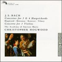 Bach: Concertos for 3 & 4 Harpsichords - Catherine Mackintosh (violin); Christophe Rousset (harpsichord); Christopher Hirons (violin);...