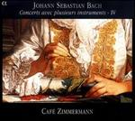 Bach: Concerts avec plusieurs instruments, Vol. 4