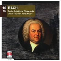 Bach: Great Sacred Choral Music - Achim Beyer (double bass); Adele Stolte (soprano); Agnes Giebel (soprano); Almuth Reuther (organ);...