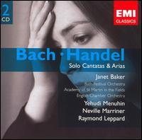 Bach, Handel: Solo Cantatas & Arias - Celia Nicklin (oboe); Celia Nicklin (oboe d'amore); Edward Beckett (flute); Jane Ryan (viola da gamba);...