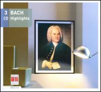 Bach Highlights - Adele Stolte (soprano); Arleen Aug�r (soprano); Armin Thalheim (harpsichord); Arthur Eger (organ);...