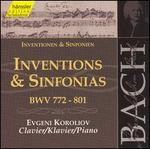 Bach: Inventions & Sinfonias, BWV 772-801