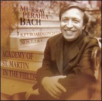 Bach: Keyboard Concertos Nos. 1, 2 & 4 - David Miller (archlute); David Miller (theorbo); Murray Perahia (piano); Academy of St. Martin-in-the-Fields;...