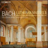 Bach: Lutheran Masses II - Aki Matsui (soprano); Dominik Wörner (bass); Gerd Türk (tenor); Hana Blaziková (soprano); Joanne Lunn (soprano);...
