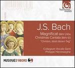 Bach: Magnificat; Christmas Cantata