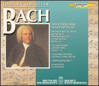 Bach: Masterpieces - Atsuko Matsuyama (oboe); Birgit Schmieder (oboe); Bob van Asperen (harpsichord); Christian Altenburger (violin);...