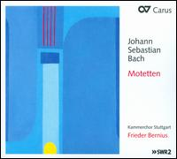 Bach: Motets, BWV 225-230 - Adolph Seidel (bass); Christian Aretz (tenor); Christof Roos (piano); Felix Rathgeber (bass); Franziska Bobe (soprano);...