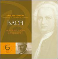 Bach: Oeuvres pour Orchestre - Fritz Neumeyer (harpsichord); Georg-Friedrich Hendel (violin); Günter Höller (recorder); Hans Bunte (violin);...