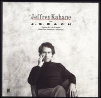 Bach: Partita No. 4; Three-Part Inventions - Jeffrey Kahane (piano)