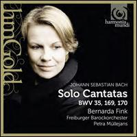 Bach: Solo Cantatas BWV 35, 169, 170 - Bernarda Fink (mezzo-soprano); Vocalconsort Berlin (choir, chorus); Freiburger Barockorchester; Petra Müllejans (conductor)