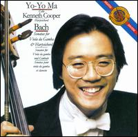 Bach: Sonatas for Viola da Gamba & Harpsichord - Kenneth Cooper (harpsichord); Yo-Yo Ma (cello)