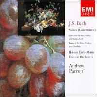 Bach: Suites; Concerto for Flute, Violin & Harpsichord - Anthony Martin (violin); Christopher Krueger (flute); David Miller (viola); Dennis Ferry (trumpet);...