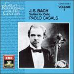 Bach: Suites for Cello, Vol. 1