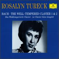 Bach: The Well-Tempered Clavier 1 & 2 - Rosalyn Tureck (piano)