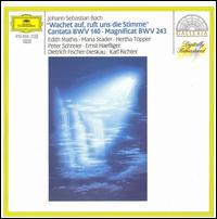 Bach: Wachet auf ruft uns die Stimme; Magnificat BWV 243 - Dietrich Fischer-Dieskau (bass); Edith Mathis (soprano); Ernst Haefliger (tenor); Hertha Töpper (contralto); Maria Stader (soprano); Peter Schreier (tenor); Münchener Bach-Chor (choir, chorus); Münchner Bach-Orchester; Karl Richter (conductor)