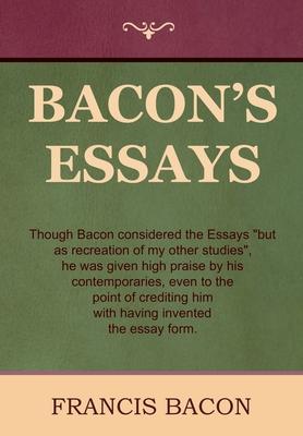 Bacon's Essays - Bacon, Francis