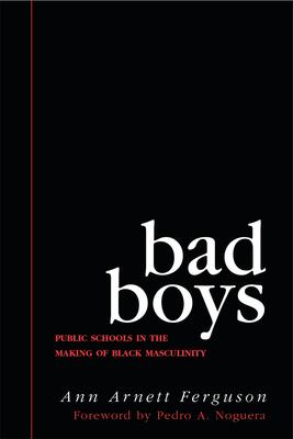 Bad Boys: Public Schools in the Making of Black Masculinity - Ferguson, Ann Arnett
