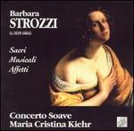 Barbara Strozzi: Sacri Musicali Affetti