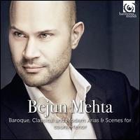 Baroque, Classical and Modern Arias & Scenes for Countertenor - Bejun Mehta (counter tenor); Julius Drake (piano); Berlin RIAS Chamber Choir (choir, chorus); René Jacobs (conductor)