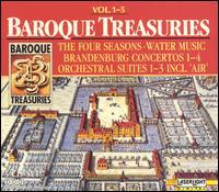 Baroque Treasuries, Vol. 1-5 - Ab Koster (horn); Albert Oesterle (trumpet); Atsuko Matsuyama (oboe); Bela Banfalvi (violin); Budapest Strings;...
