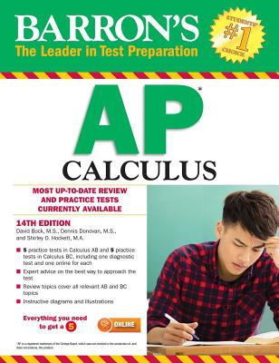 Barron's AP Calculus - Bock, David, and Donovan, Dennis