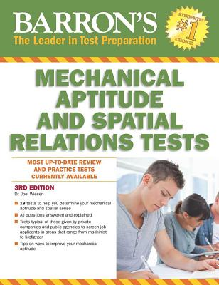 Barron's Mechanical Aptitude and Spatial Relations Test - Wiesen, Joel, Dr.