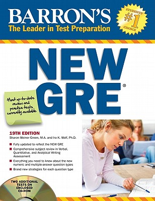 Barron's New GRE - Green, Sharon Weiner, and Wolf, Ira K