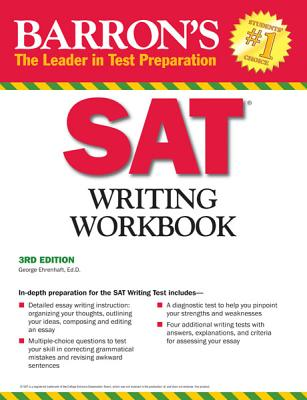 Barron's SAT Writing Workbook - Ehrenhaft, George