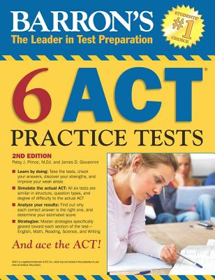Barron's Six Act Practice Tests - Prince, Patsy, and Giovonnini, James D.