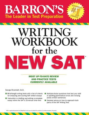 Barron's Writing Workbook for the New SAT, 4th Edition - Ehrenhaft, George