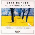 Bartók: Violin Sonatas, Sz 75-76