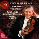 Bartok: Violin Concerto No. 2; Viola Concerto