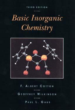 Basic Inorganic Chemistry - Cotton, F Albert