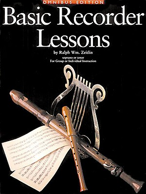 Basic Recorder Lessons - Omnibus Edition: For Group or Individual Instruction - Zeitlin, Ralph Wm