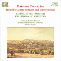 Bassoon Concertos from the Courts of Baden and Württemberg - Albrecht Holder (bassoon); Stockholm Philharmonic Orchestra; Nicolas Pasquet (conductor)
