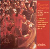 Bassoon Concertos: Mozart, Michael Haydn, Stamitz, Weber - Laurence Perkins (bassoon); Laurence Perkins (candenza); Manchester Camerata; Douglas Boyd (conductor)