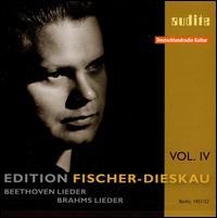 Beethoven, Brahms: Lieder - Dietrich Fischer-Dieskau (baritone); Hertha Klust (piano)